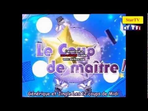 Generique et jingle les 12 coups de midi tf1 youtube - Les grands gagnants des 12 coups de midi ...
