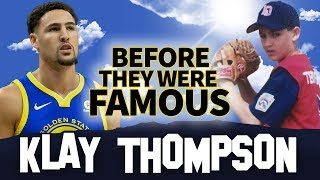 KLAY THOMPSON | Before They Were Famous | Golden State Warriors