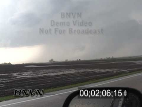 5/11/2004 Northern MN tornado and hail storm video