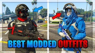 "GTA 5 *MUST HAVE* ""2 Best Modded Try Hard & RnG Outfits Tutorials"" (GTA Clothes Glitch 1.43)"