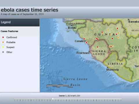 Ebola Cases Time Series