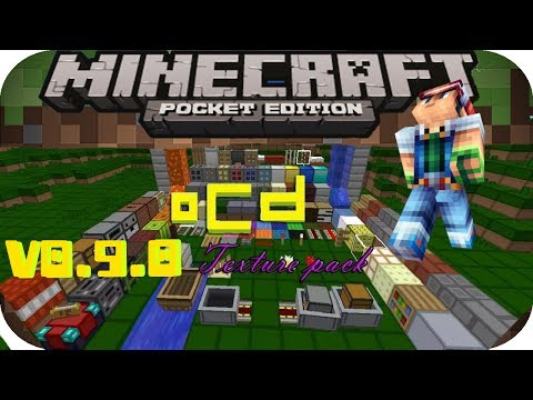 OCD texture pack mcpe v0.9.0 Review