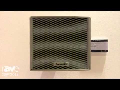 ISE 2014: Community Loudspeakers Introduces R.15 COAX All-Weather Loudspeaker