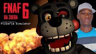 LEFTY TORTÃO PRA ESQUERDA! - Freddy Fazbear's Pizzeria Simulator (FNAF 6 DA ZUERA) #2