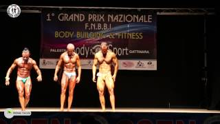 Bodybuilding FNBBI assoluti uomini