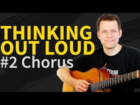 Download Thinking Out Loud - Ed Sheeran - Guitar Lesson ...