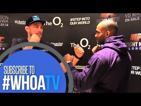 UFC LONDON MEDIA TOUR: MANUWA VS GUSTAFSSON