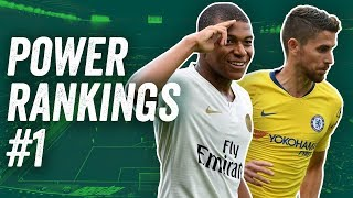 Football Power Rankings Week 1  ► Will Kylian Mbappé top the table?