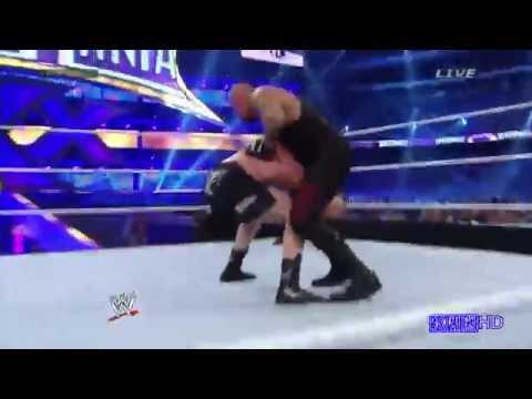 Undertaker Vs Brock Lesnar Highlights Legit 720p video
