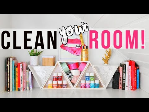 CLEAN YOUR ROOM!    8 New DIY Organizations + Tips & Hacks for Spring Cleaning 2018!