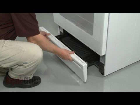 Broiler Drawer Handle - GE Gas Range