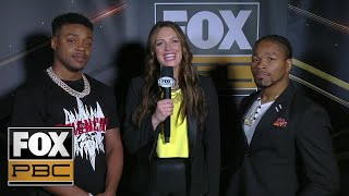 Shawn Porter, Errol Spence Jr. talk their upcoming fight | INTERVIEW | PBC ON FOX
