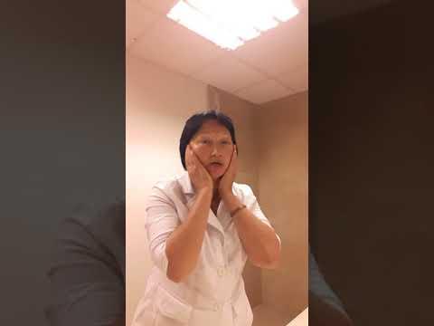 Убрать отеки на лице за минуту. Полезная минута от доктора.