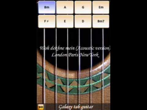 Me & my Galaxy Guitar.. Woh dekhne mein (LPNY)-Acoustic