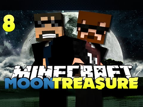 Minecraft Modded Moon Race 8 - GOING TO THE MOON