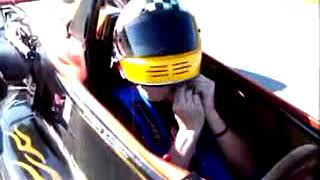 Racing Crew Test Drives Race Car for First Time