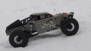 Тест-драйв авто JACKAL Desert Buggy и проверка дешевого китайского регулятора TSKY 120A