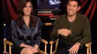 Paranormal Activity - Katie Featherston and Micah Sloat interview