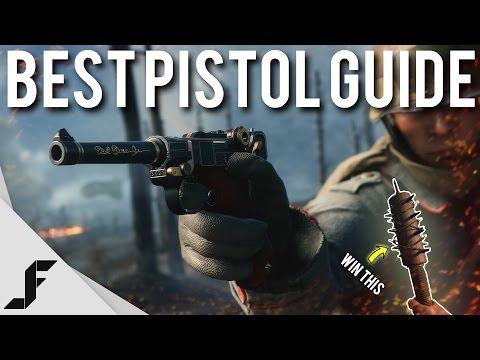 BEST PISTOLS GUIDE - Battlefield 1 + (Bat Giveaway)