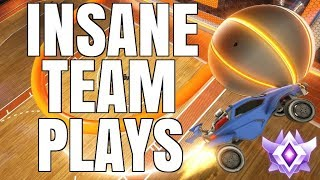 INSANE TEAM PLAYS IN HOOPS | GRAND CHAMPION 2V2 WITH LETHAMYR