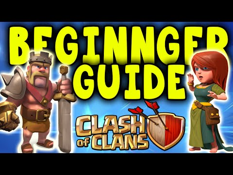 Clash of Clans Beginner Strategy Guide! - 10 Tips & Tricks for New Clash of Clan Players