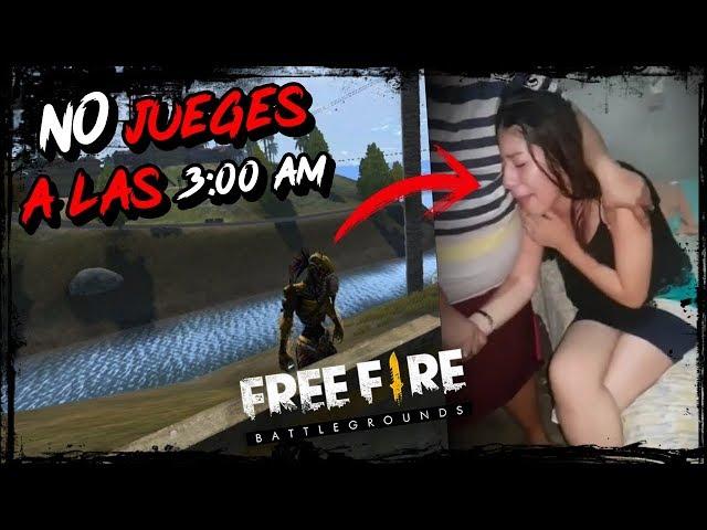 CUANDO VEAS ESTE VIDEO DEJARAS DE JUGAR FREE FIRE A LAS 3:00 AM►EL NUEVO BUG Cinematográfico PARODIA thumbnail