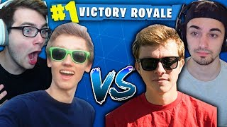 FORTNITE TOURNAMENT! (Nicks & Randumb VS. Kiwiz & Formula!)
