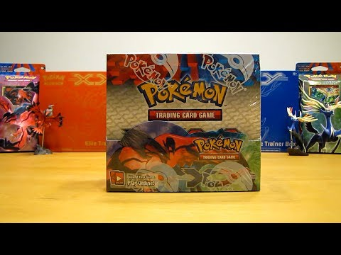 Pokemon X and Y Booster Box Opening Pt. 1