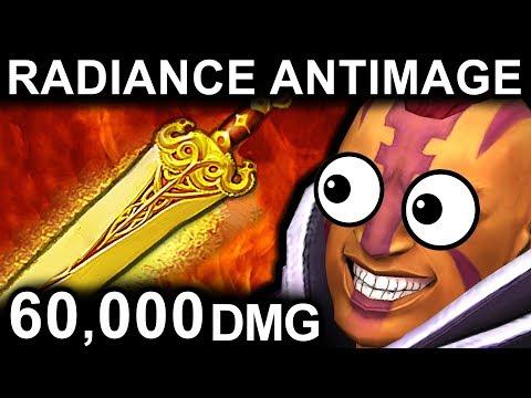 RADIANCE ANTIMAGE DOTA 2 PATCH 7.06 NEW META PRO GAMEPLAY