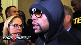 Mayweather vs Maidana 2 post fight : Floyd feels he could of stopped Maidana; Talks Pacquiao