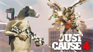 Just Cause 4 - COW GUN VS THE DEMONS SECRET!