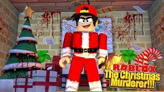 ROBLOX - THE CHRISTMAS EVIL .EXE ROPO IN MURDER MYSTREY X!!!