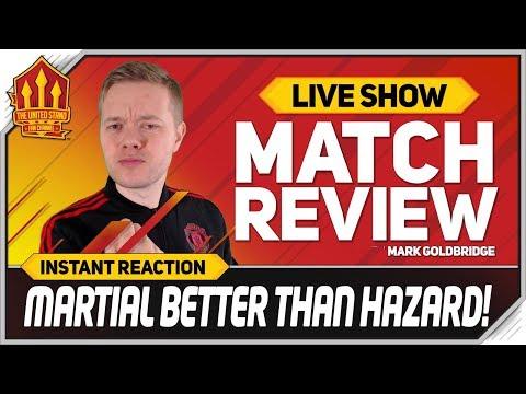 Goldbridge Martial & Pogba World Class Fulham 0-3 Manchester United Reaction