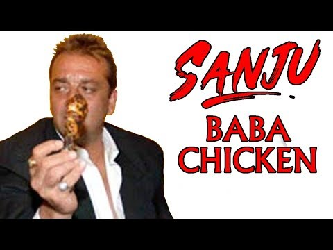 SANJU BABA CHICKEN | WHITE CHICKEN BIRYANI |MUMBAI CHICKEN CURRY | Indian Food