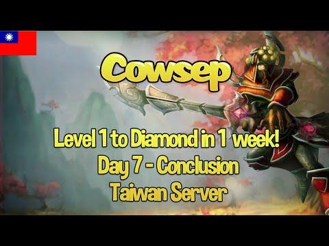 Taiwan Server: Level 1 to Diamond in 1 week (again!) - Day 7