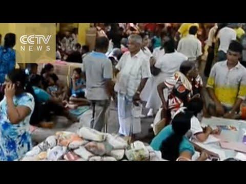 Foreign aid reaches Sri Lanka, 71 dead in flooding