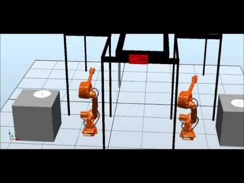 Taşıma Robotu Simülasyonu 7