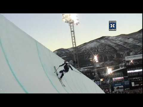Winter X Games 15 - Simon Dumont Nails the Pipe Deck