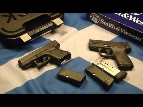 Glock 26 vs S&W Shield 9