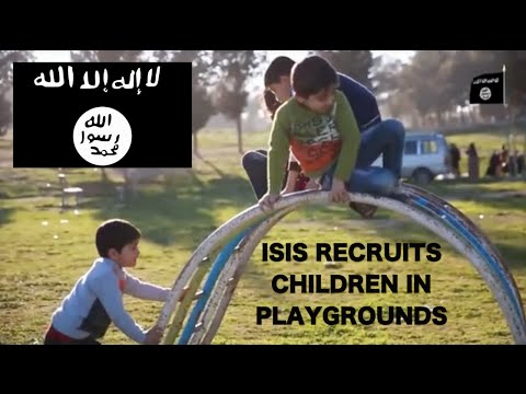 ISIS Recruiting Children In Playgrounds & Theme Parks