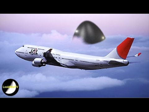 Giant UFO Follows Japanese Airliner! Pilot And Crew Witness UFOs May 2016