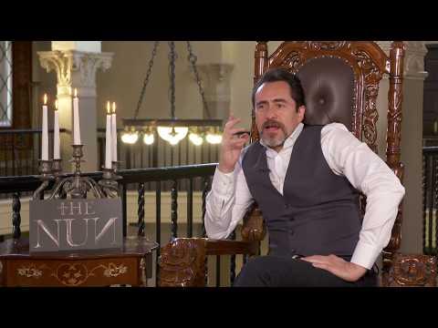 Actor Demián Bichir Explains The Nun