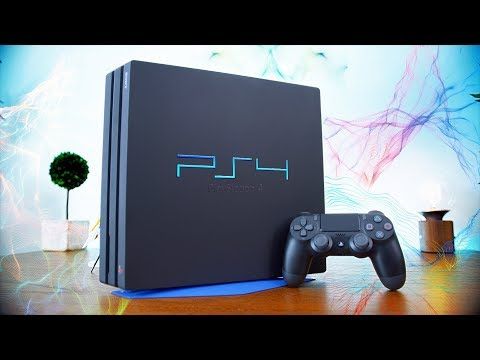 RETRO PS4 PRO UNBOXING - Playstation 2 Edition!