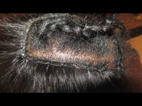 ☏ How To: The Perfect High Ponytail Sew In Weave