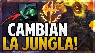 ¡CAMBIARON LA JUNGLA Y HECARIM CONQUISTADOR ESTA OP!   League of Legends