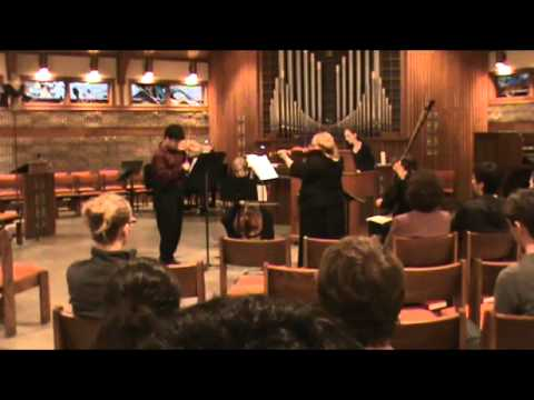 Vitali Trio Sonata in D Major, Op 1 No 1 IV Allegro