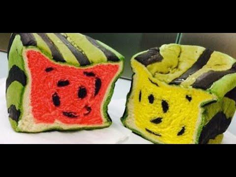 今夏台湾流行吃西瓜面包 Watermelon Toast is trending in Taiwan this summer