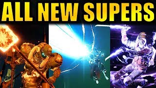 Destiny 2: ALL 9 NEW SUPERS REVEALED! - New Perks & Abilities! | Forsaken Expansion