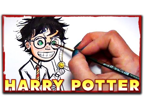 The Boy Who Lived - Harry Potter Art By Mary Doodles video