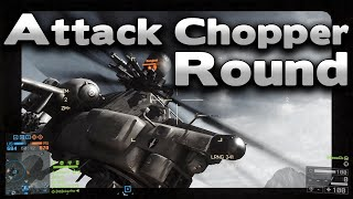 Battlefield 4 Attack Chopper Round with Salt Included